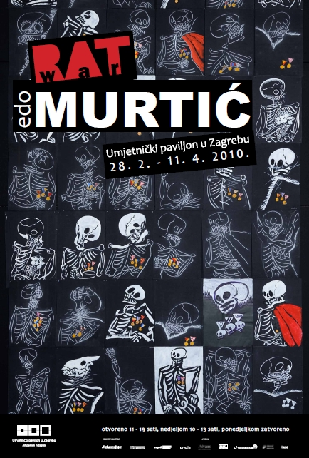 Edo Murtić Rat 2010 plakat