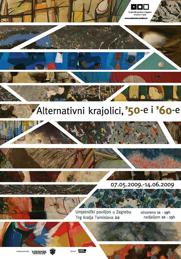 Plakat: Alternativni krajolici, '50-e i '60-e – Od prirode do vizije
