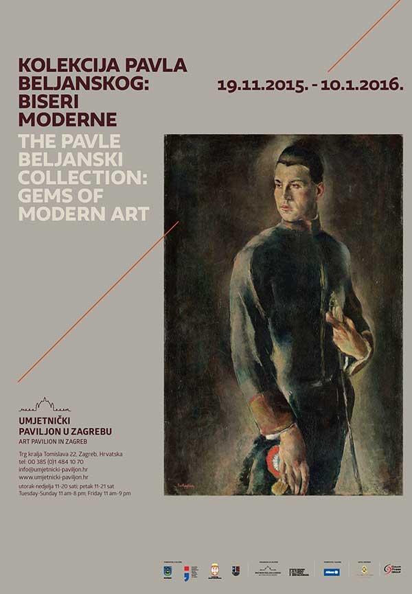 Plakat: Kolekcija pavla Beljanskog: Biseri moderne