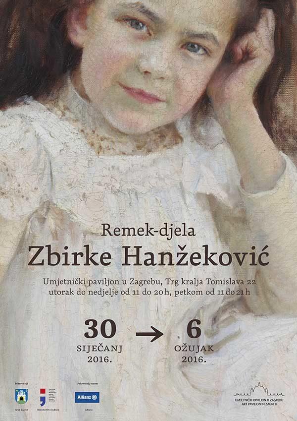 Plakat: Remek-djela zbirke Hanžeković