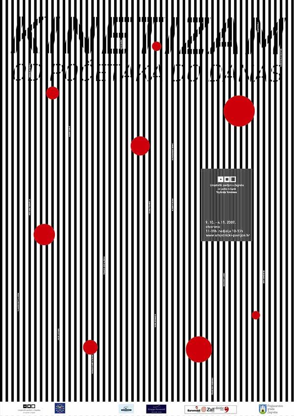 Plakat: Kinetizam od početaka do danas (Italija, Francuska, Hrvatska)