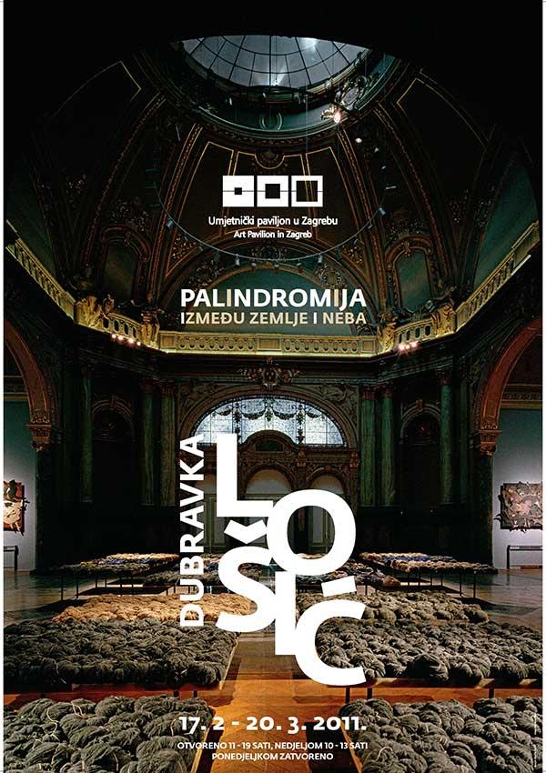Plakat: Dubravka Lošić: Palindromija