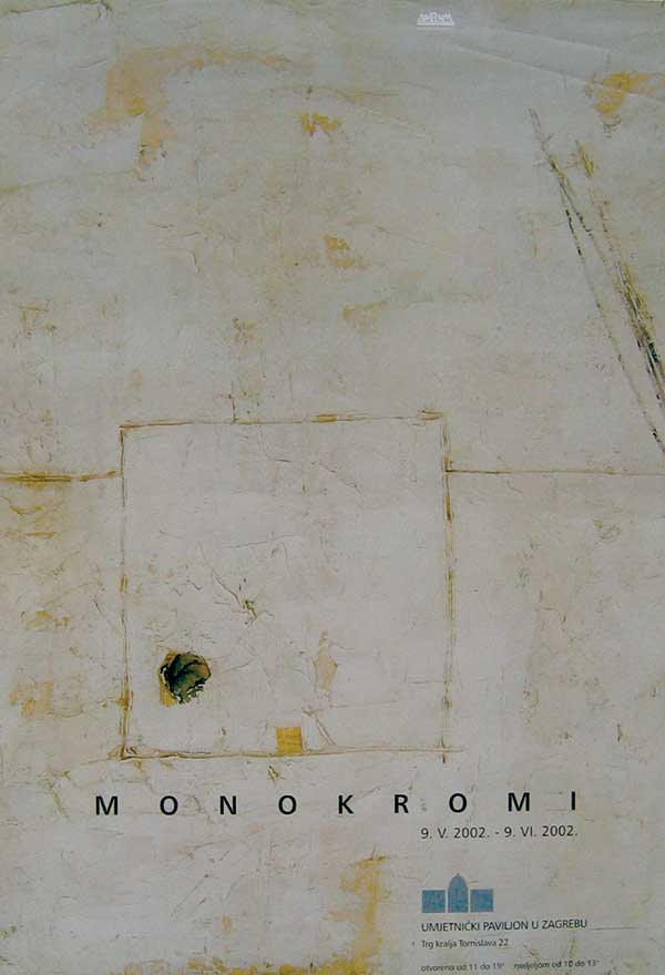 Plakat: Monokromi
