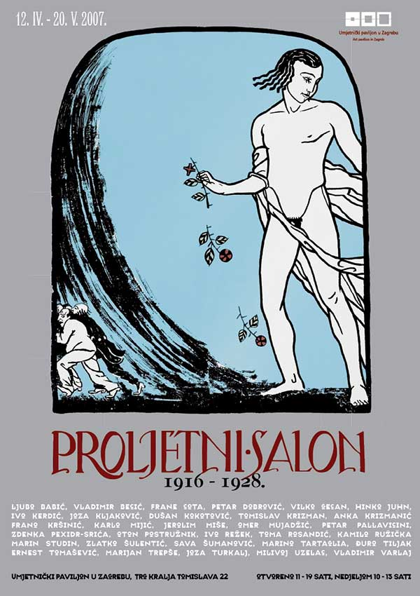Plakat: Proljetni salon 1916. – 1928.