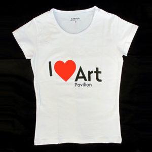 Majica I Love Art Pavilion (ženska)