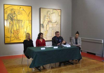 "Konferencija za novinare povodom izložbe ""Strast stvaranja: remek-djela iz zbirke Fundacije Maeght"" 3. listopada 2017."