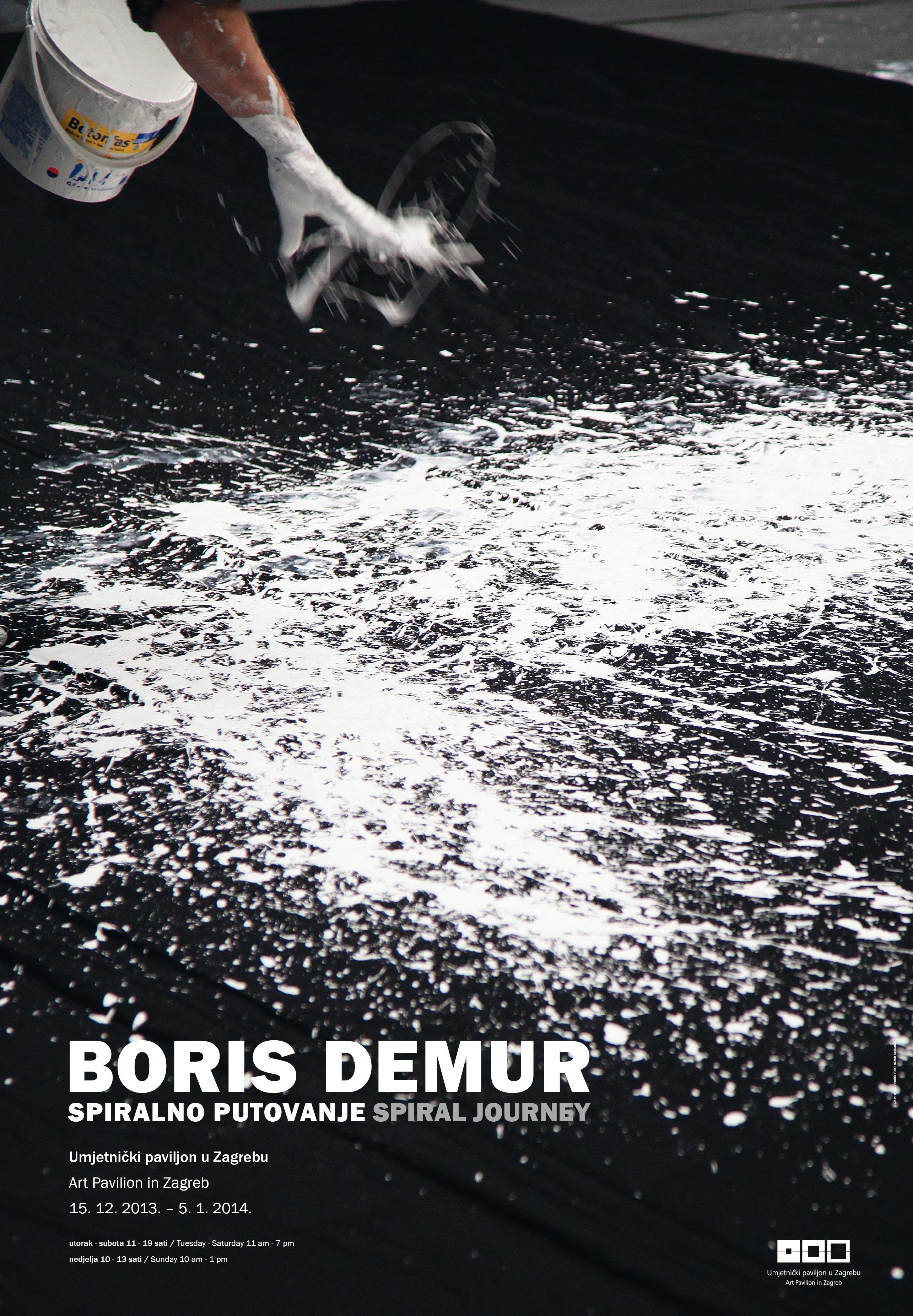Boris Demur 2013 plakat