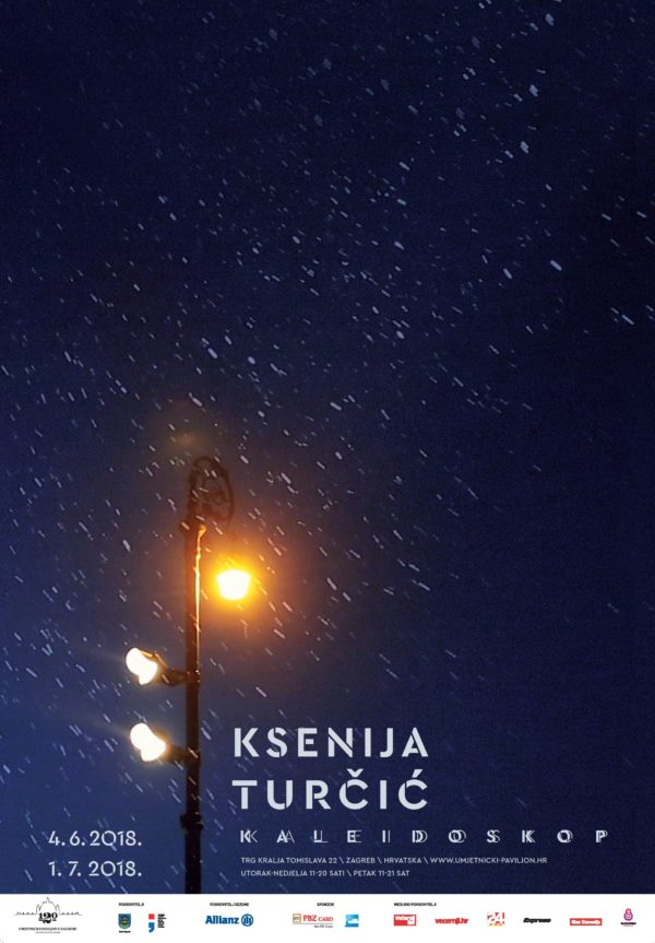 Ksenija Turčić – Kaleidoskop – plakat_B1