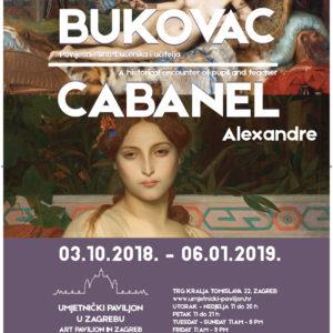 Vlaho Bukovac  i Alexandre Cabanel - povijesni susret učenika i učitelja
