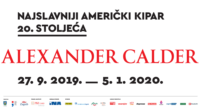 Working hours during holidays 2019 / 2020 and last week of the A. Calder´s exhibition
