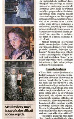 Lovro  Artukovic, Jutarnji list, 5. 11. 2020 (02)