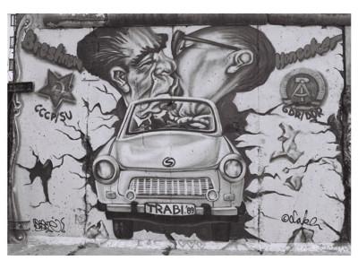 Stanko Abadzic - Povijesni poljubac, Berlin 2004