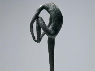 Figura(covjek pod tusem), 1956