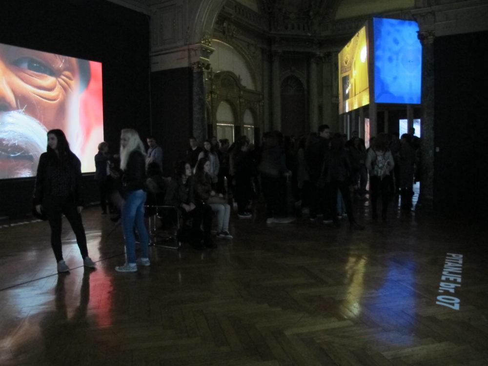 Zatvaranje izložbe Dalibora Martinisa, 17. travnja 2016.