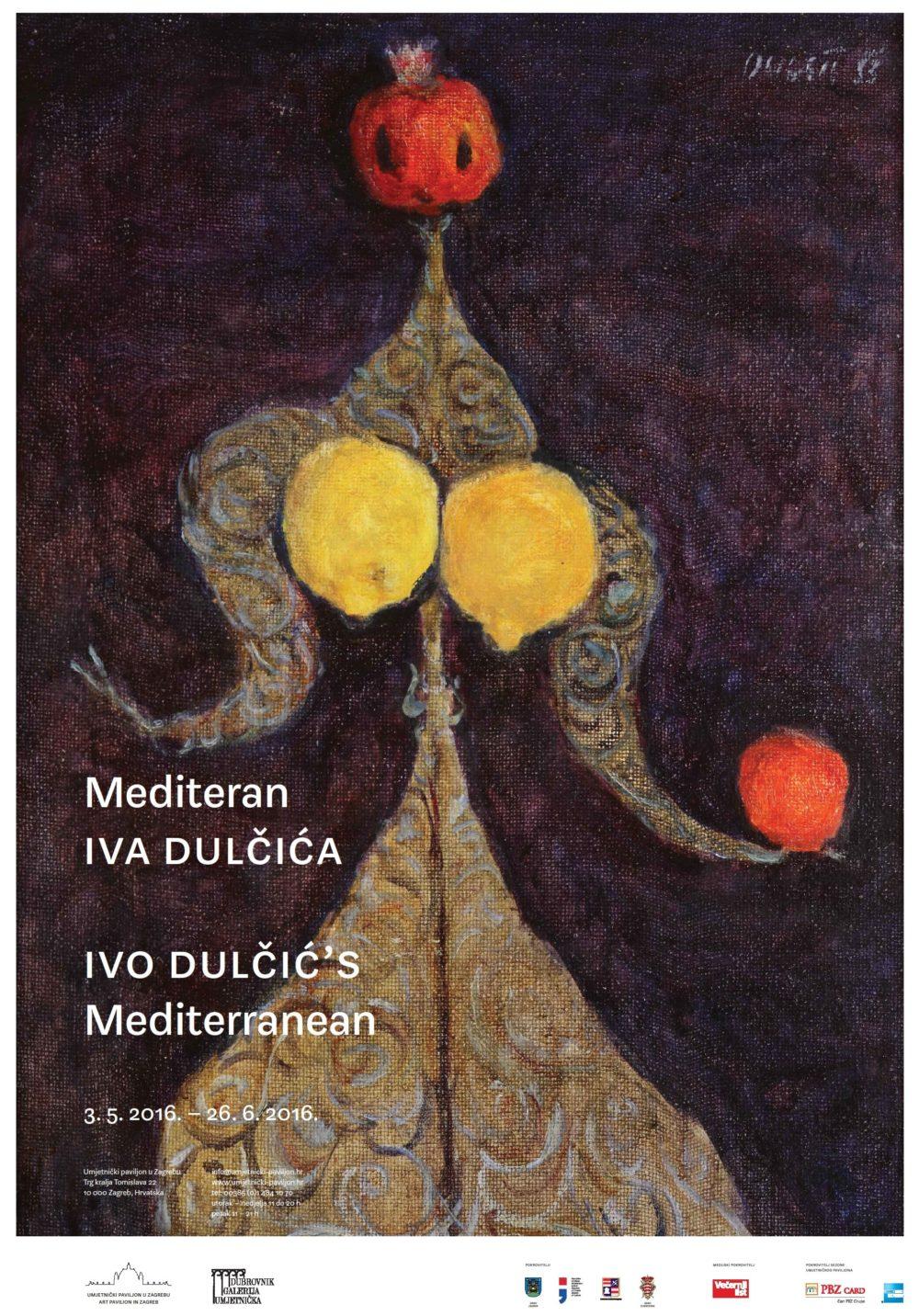 Mediteran Iva Dulčića 2013 plakat