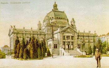 Povijest Umjetničkog paviljona