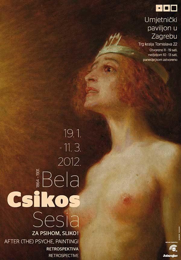 Plakat: Bela Csikos Sesia: Za Psihom, sliko!