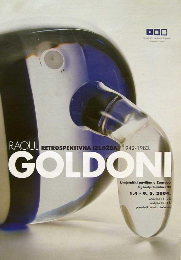 Raoul Goldoni : Retrospektivna izložba 1942 – 1983. : Kiparstvo i slikarstvo