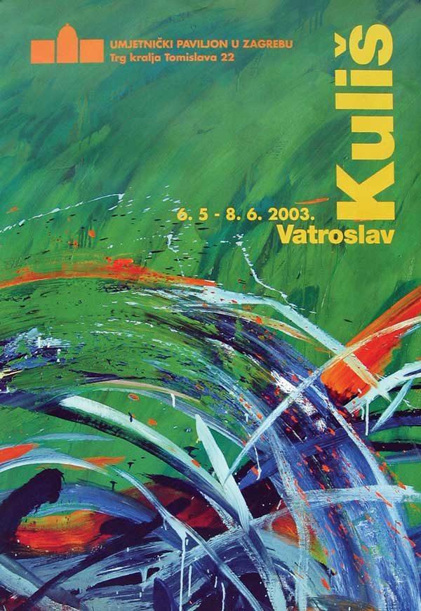 Plakat: Katalog: Vatroslav Kuliš: Riffovi