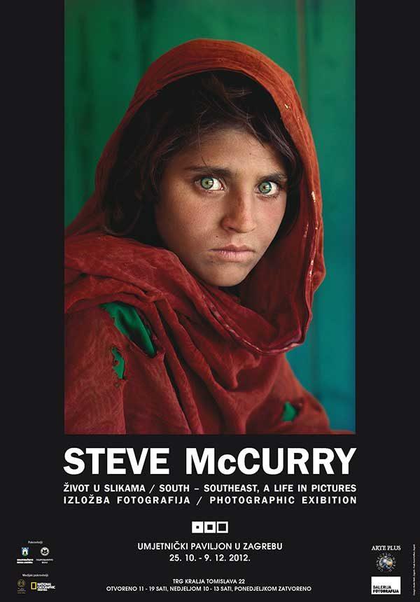 Plakat: Steve McCurry: Život u slikama
