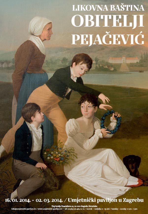 Plakat: Likovna baština obitelji Pejačević