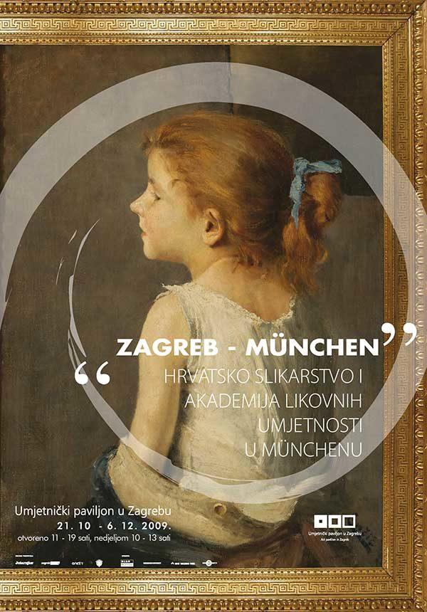 Plakat: Zagreb – München