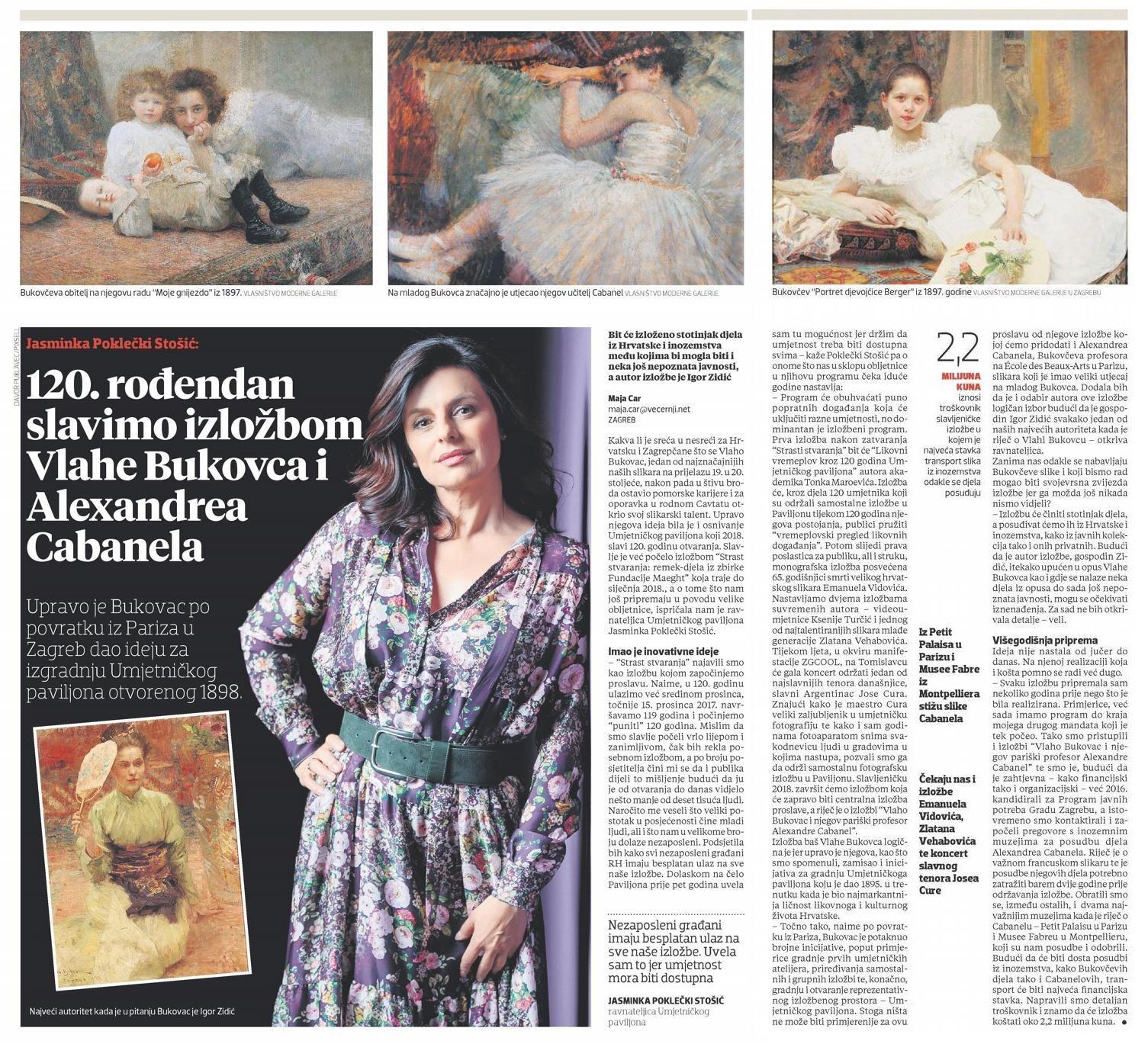 Uz 120. obljetnicu Umjetničkog paviljona u Zagrebu – iz medija