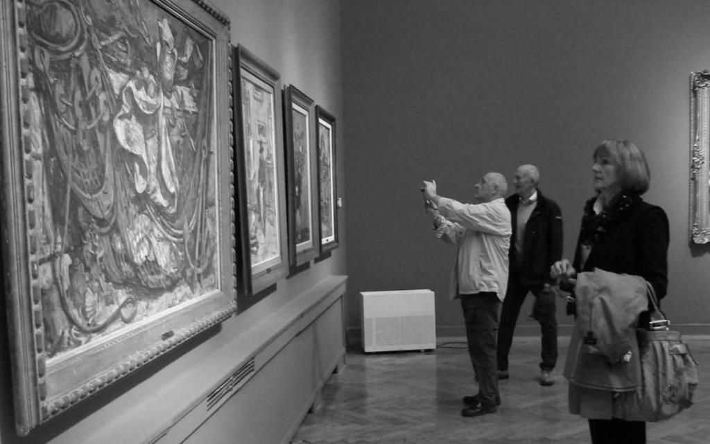 Otvorenje izložbe Kolekcija Pavla Beljanskog: Biseri moderne 19. studenog 2015.