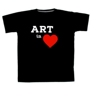 T-shirt Art in Heart (male)
