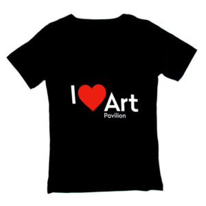 T-shirt I Love Art Pavilion (female)