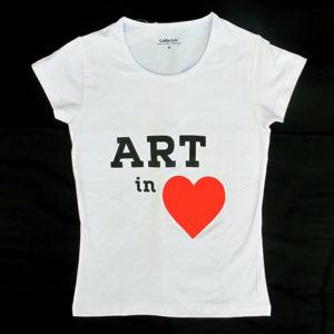 T-shirt Art in Heart (female)