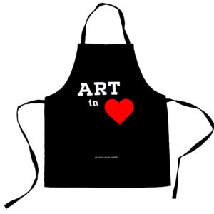 Apron Art in Heart