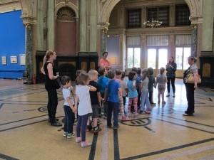 Posjete dječjih vrtića izložbi Mediteran Iva Dulčića