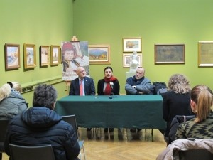 """Tiskovna konferencija povodom izložbe """"Zbirka Roglić"""""""