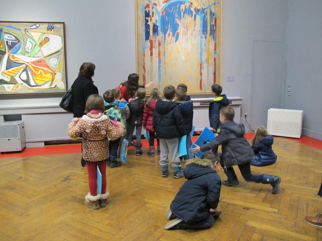 Stručna vodstva i likovne radionice za djecu uz izložbu Strast stvaranja