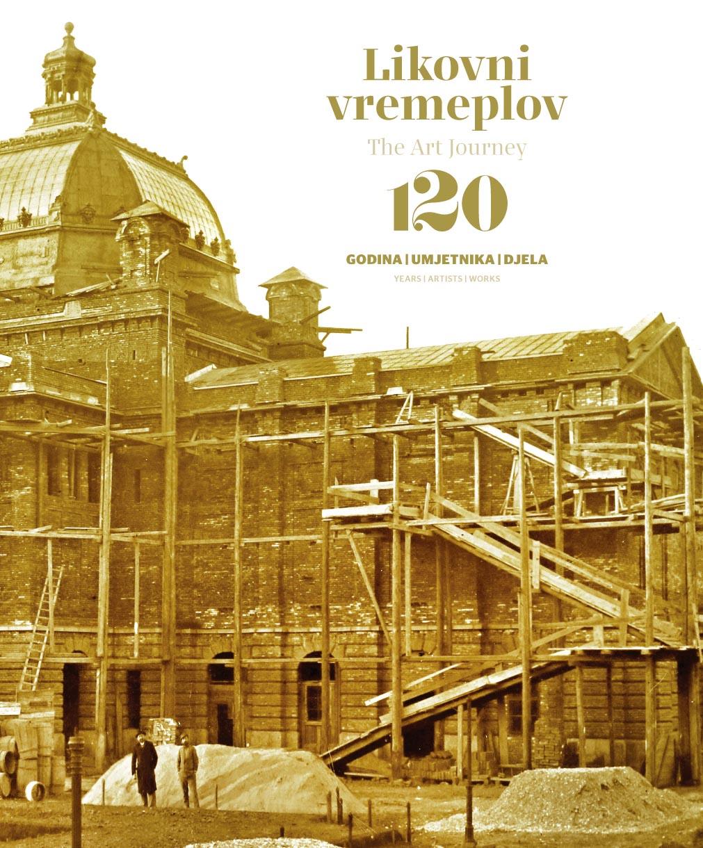 Likovni vremeplov – naslovnica kataloga