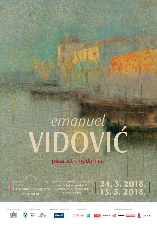Emanuel Vidović plakat B1