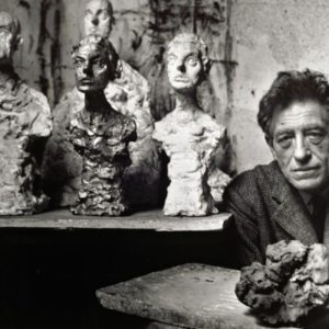 "ALBERTO GIACOMETTI – sculpture, drawings, lithographs ""Portraits of the Present"""
