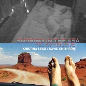 Kristina Leko and David Smithson: Snoring in the USA  - 14 channel video installation