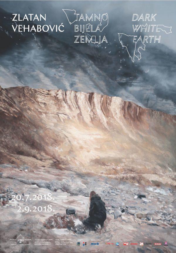 Zlatan Vehabović_- Tamno bijela zemlja, plakat_B1