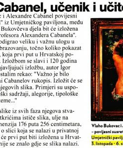 Jutarnji list - Like_01102018_V_Bukovac_A_Cabanel