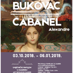 Vlaho Bukovac and Alexandre Cabanel - A Historic Encounter of Pupil and Teacher