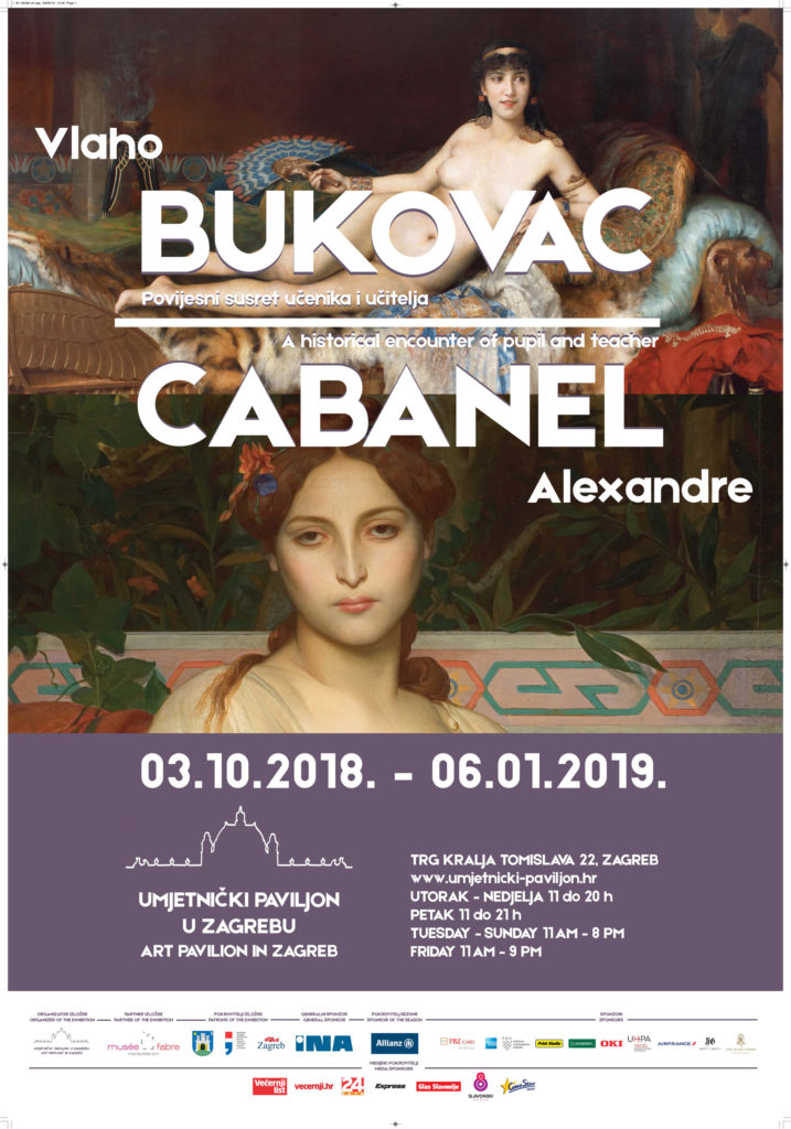 Vlaho Bukovac And Alexandre Cabanel A Historic Encounter Of