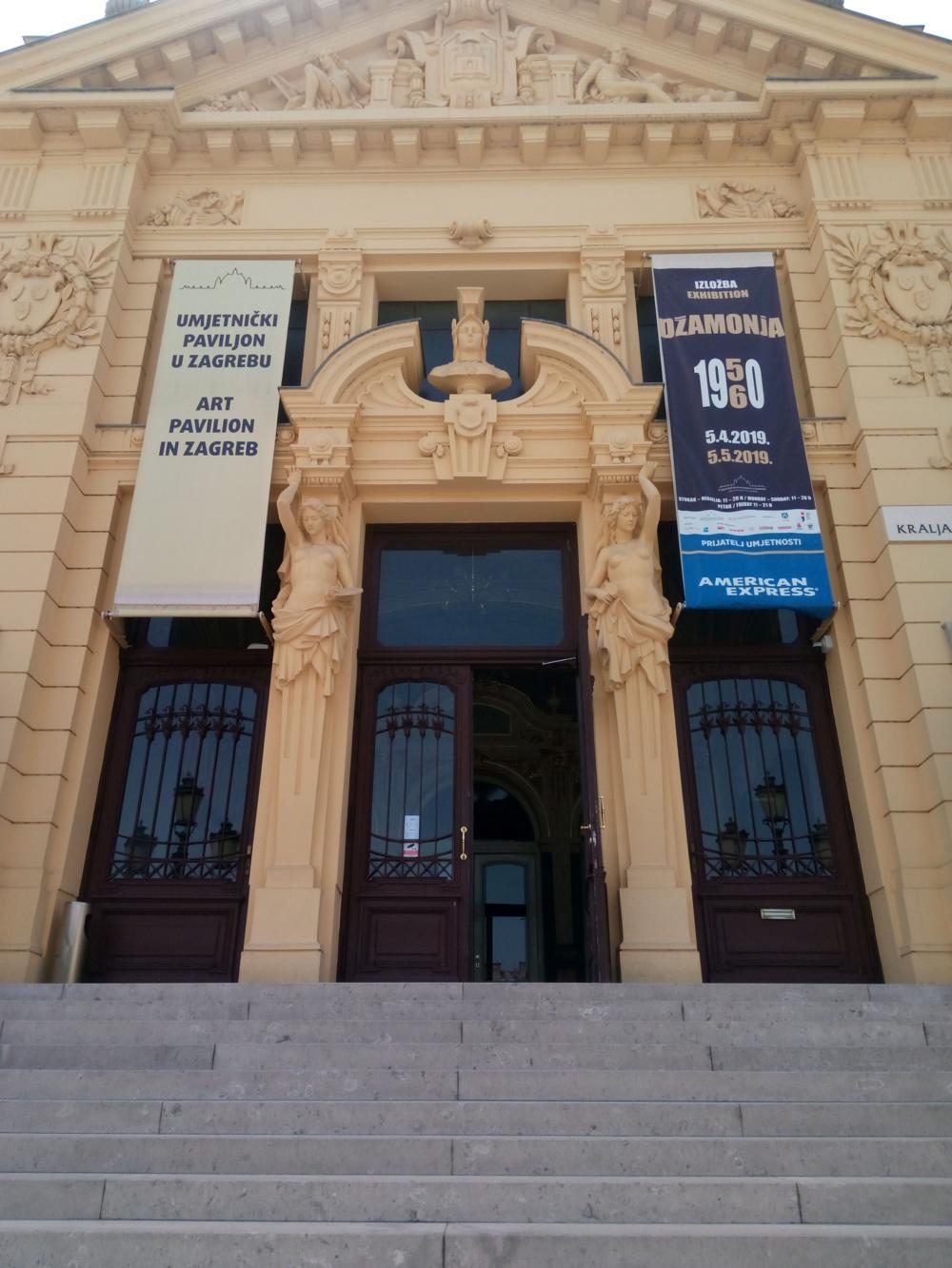 Izložba Dušana Džamonje otvorena i na Međunarodni praznik rada 1. svibnja 2019. od 11 do 20 sati