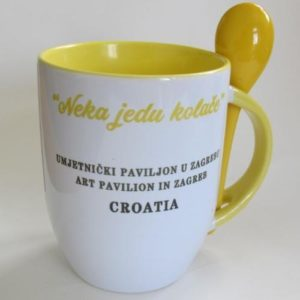"Mug ""Let Them Eat Cake?"""