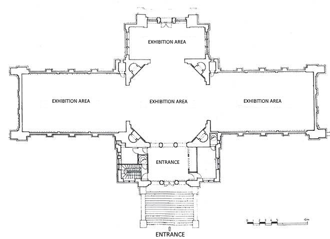 tlocrt-paviljona