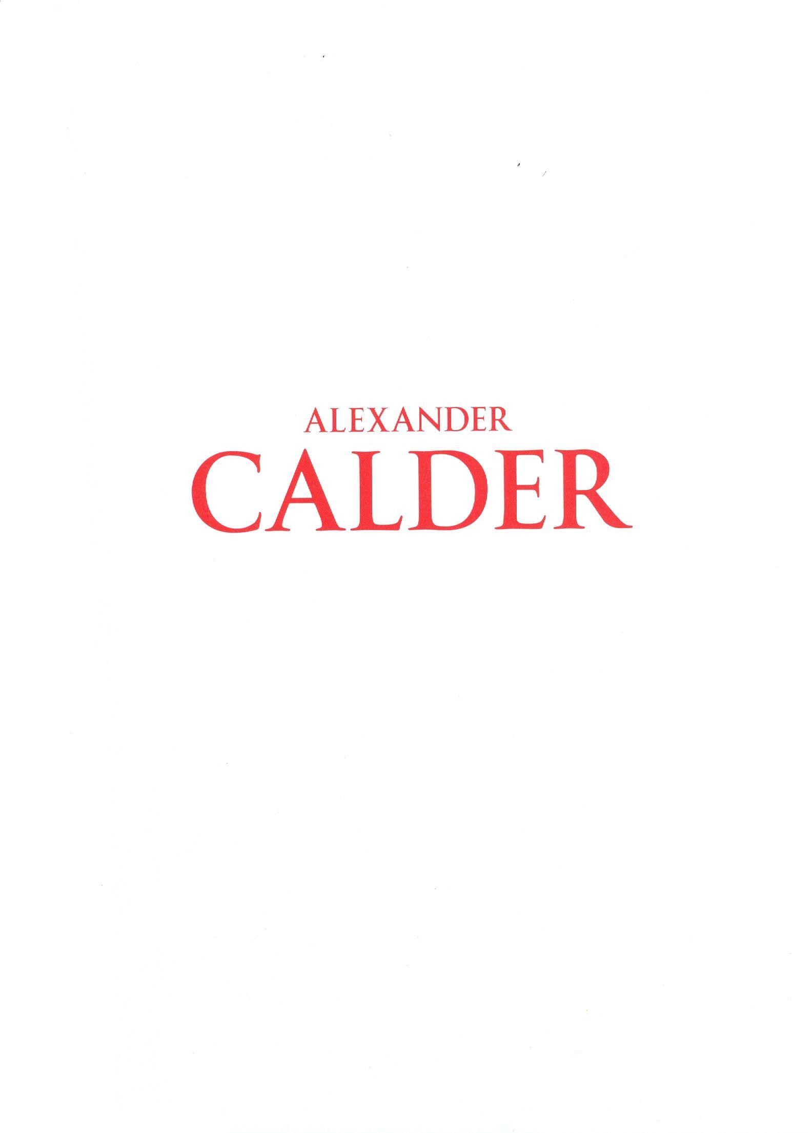 A_Calder_katalog_naslovnica