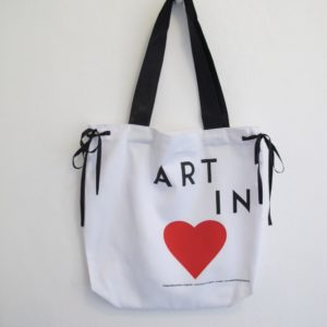 Bag Art in Heart