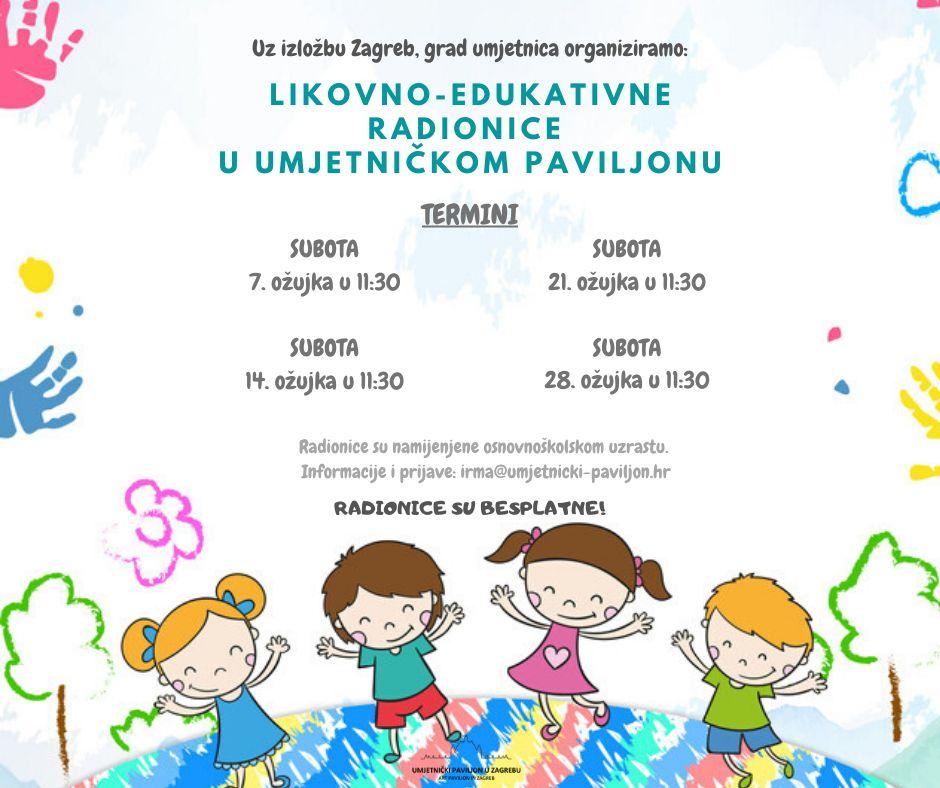 Događanja Umjetnicki Paviljon U Zagrebu