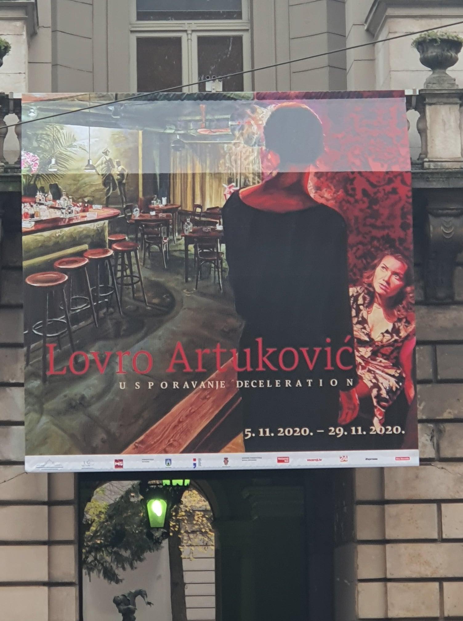 Posljednji vikend izložbe Lovre Artukovića
